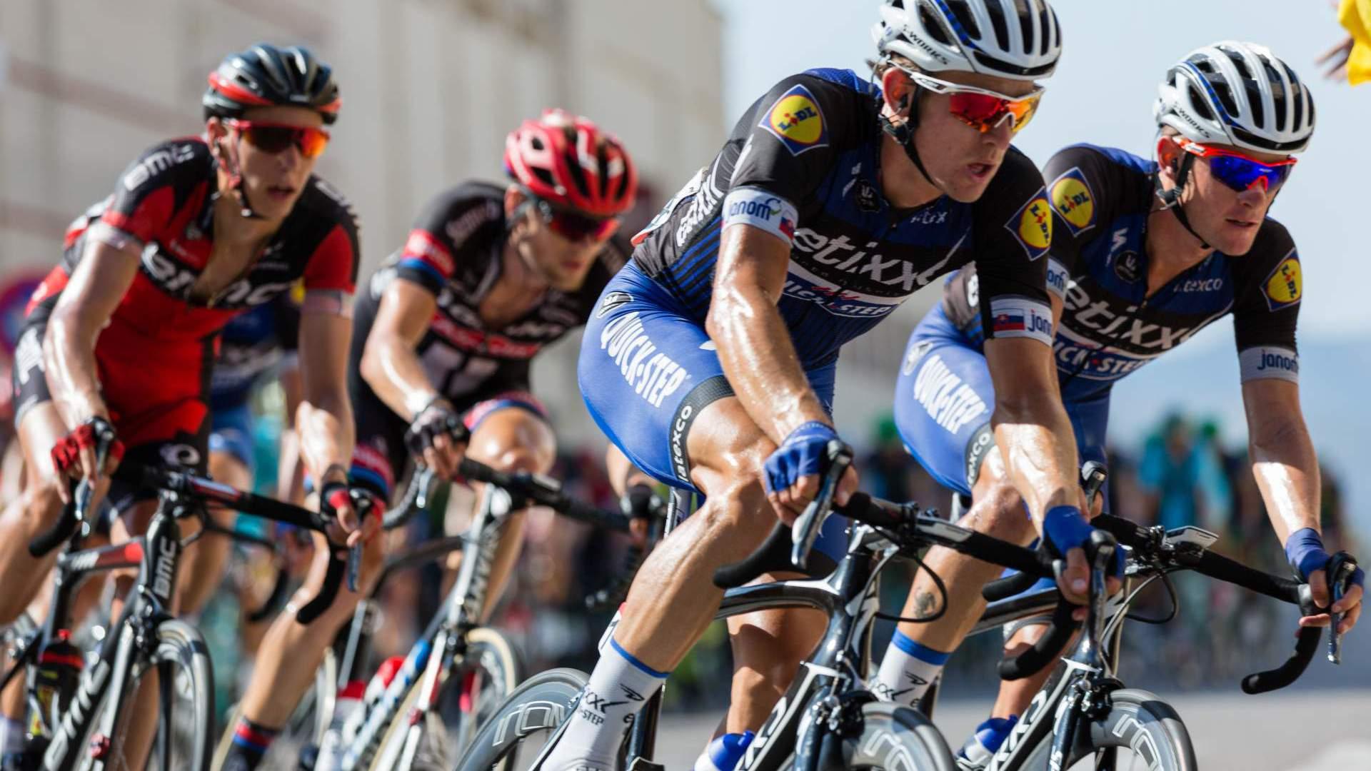 Aankomst Tour de France