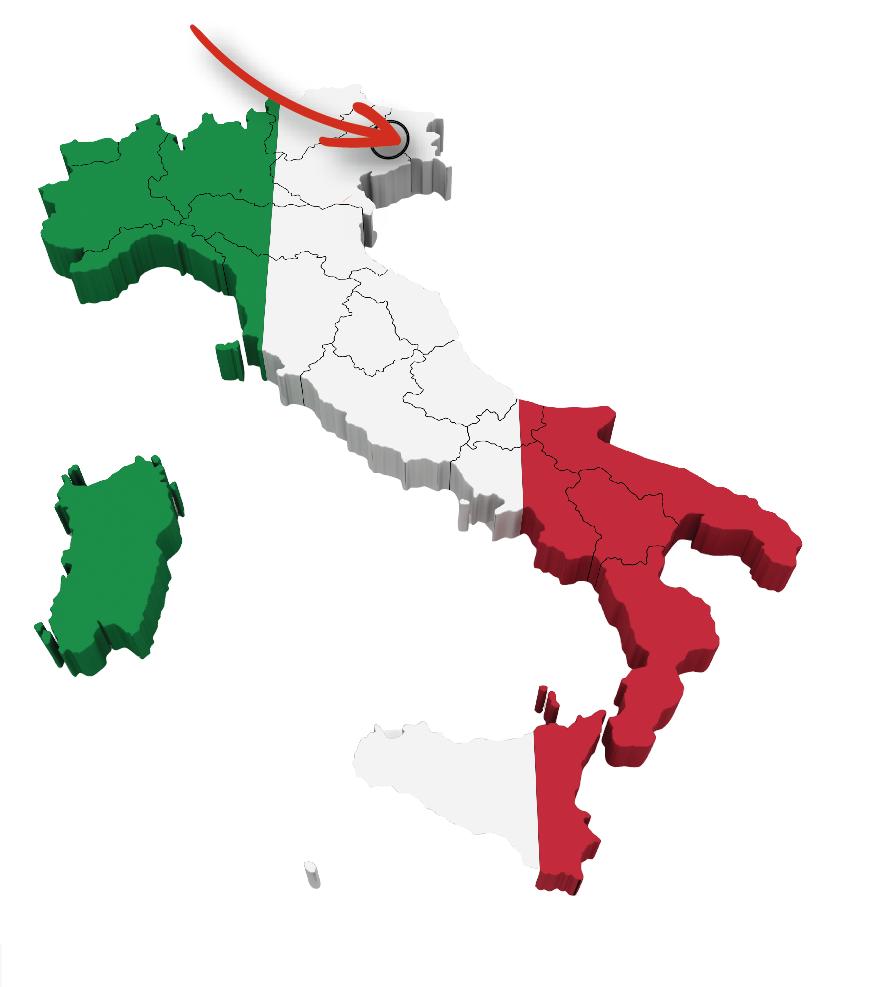Busreis fietsvakantie Noord-Italië