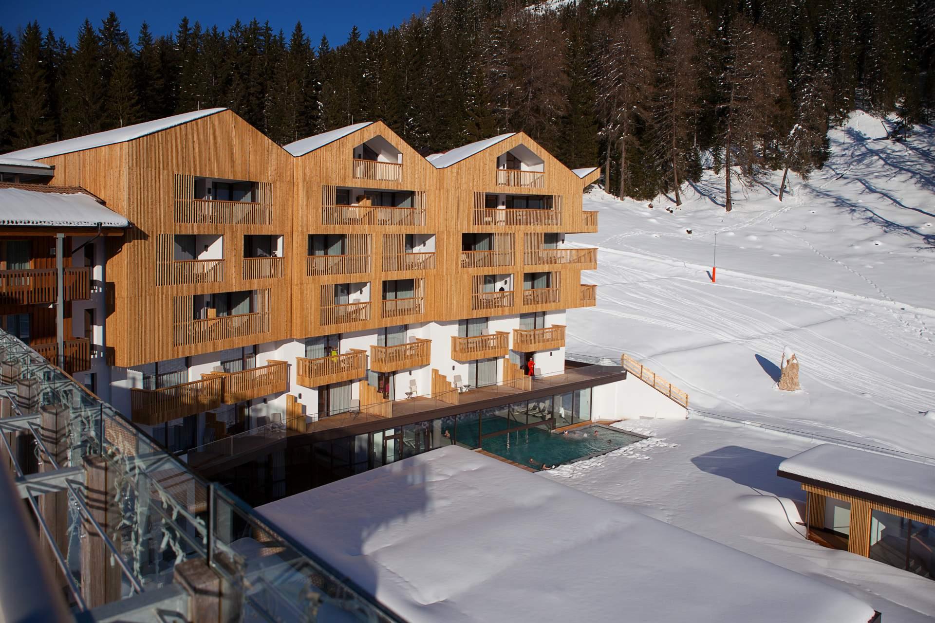 Obereggen - Hotel Cristal - GELEGEN OP DE PISTE