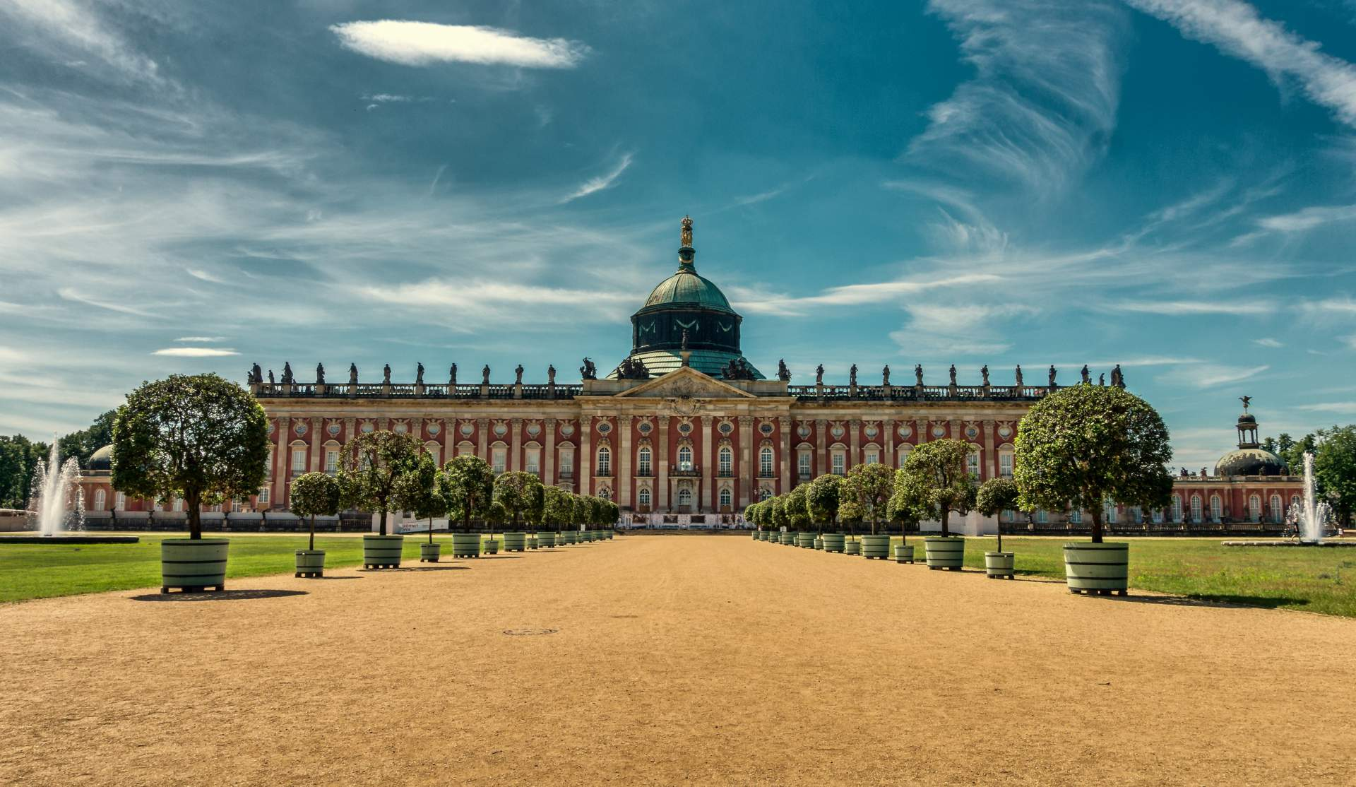 Busreis Berlijn Potsdam Sanssouci citytrip meerdaagse
