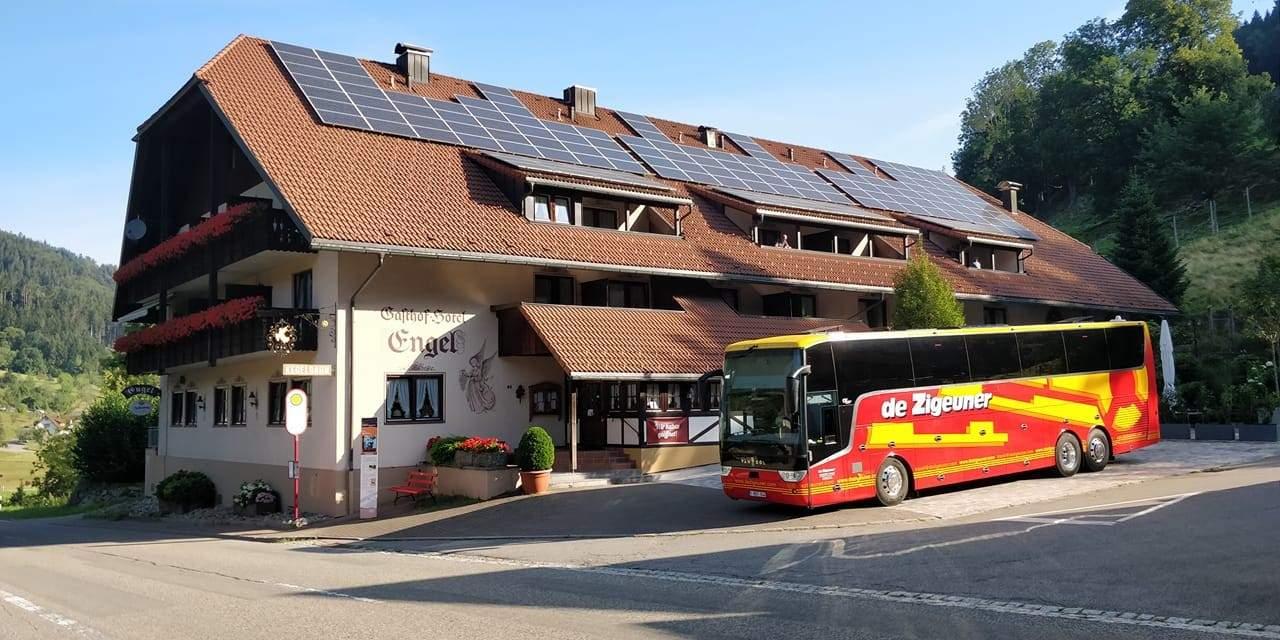 Busreis Zwarte Woud wandelvakantie Gasthof Hotel Engel