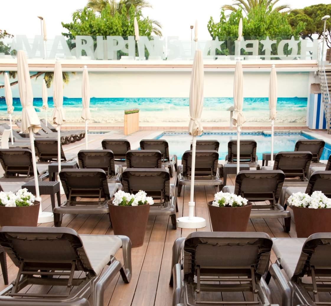Busreis Malgrat de Mar Hotel Alegria Maripins strandvakantie