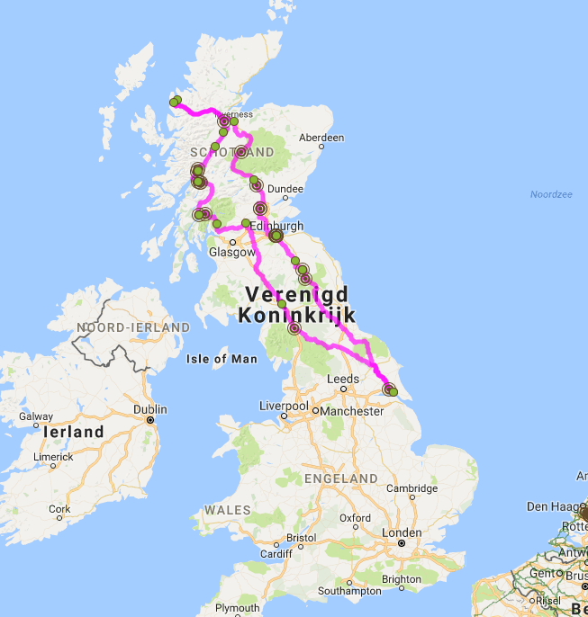 Busreis Schotland rondreis
