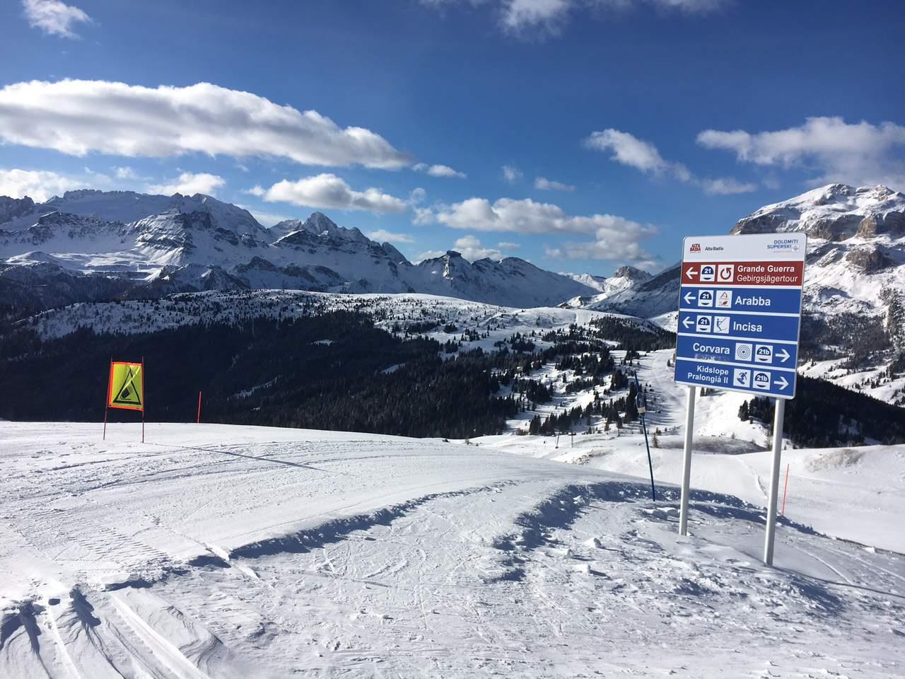 Busreis skivakantie skireis Alta Badia