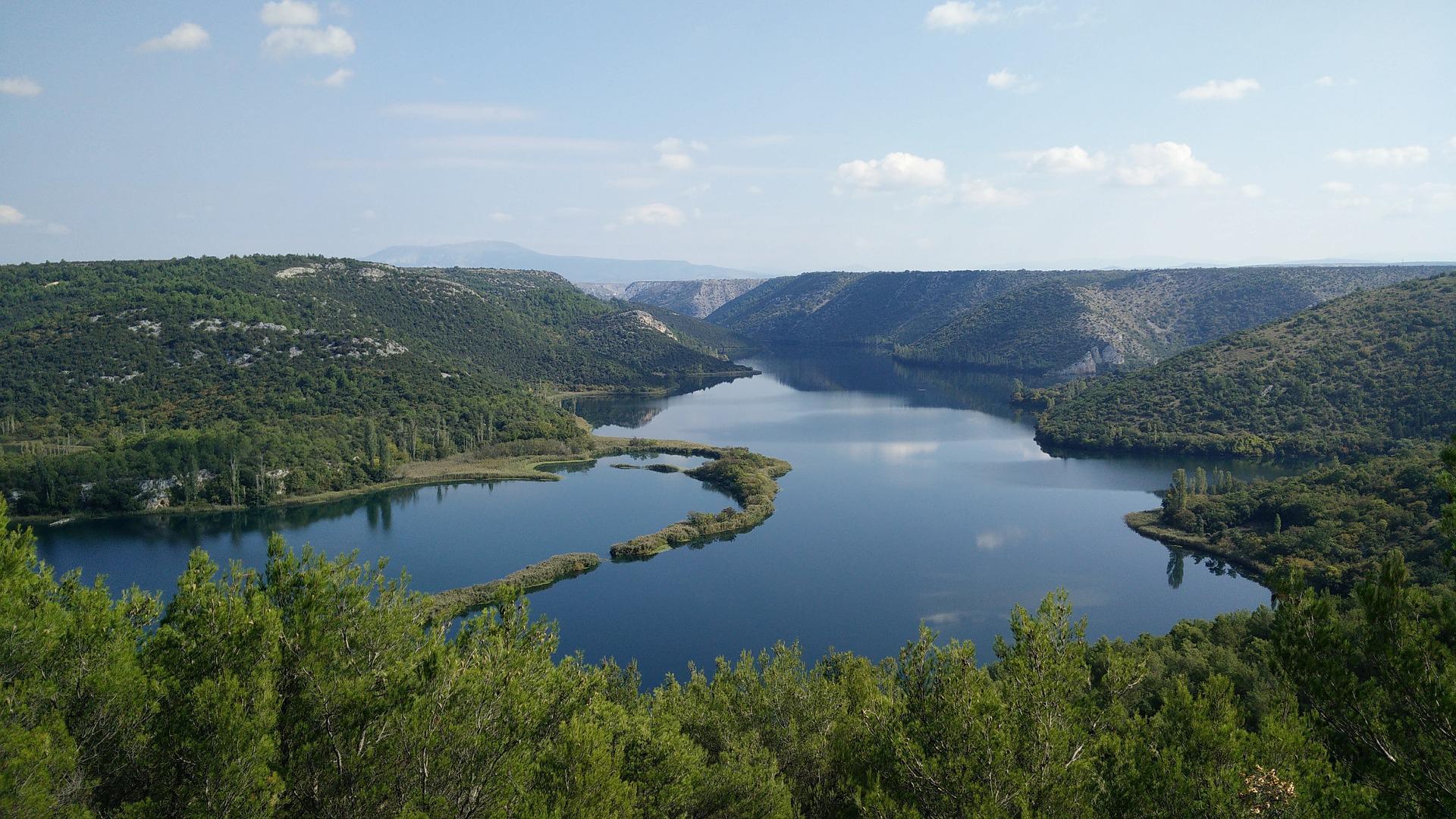 Busreis eilanden van Kroatië Krka rivier rondreis