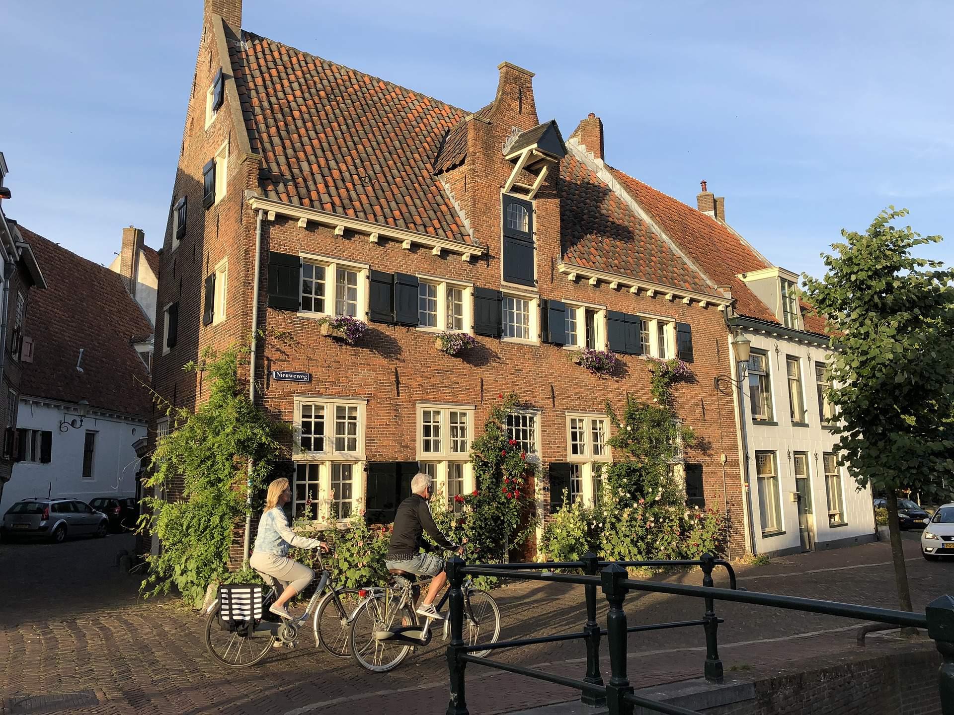 Busreis fietsvakantie vierprovinciënroute Amersfoort