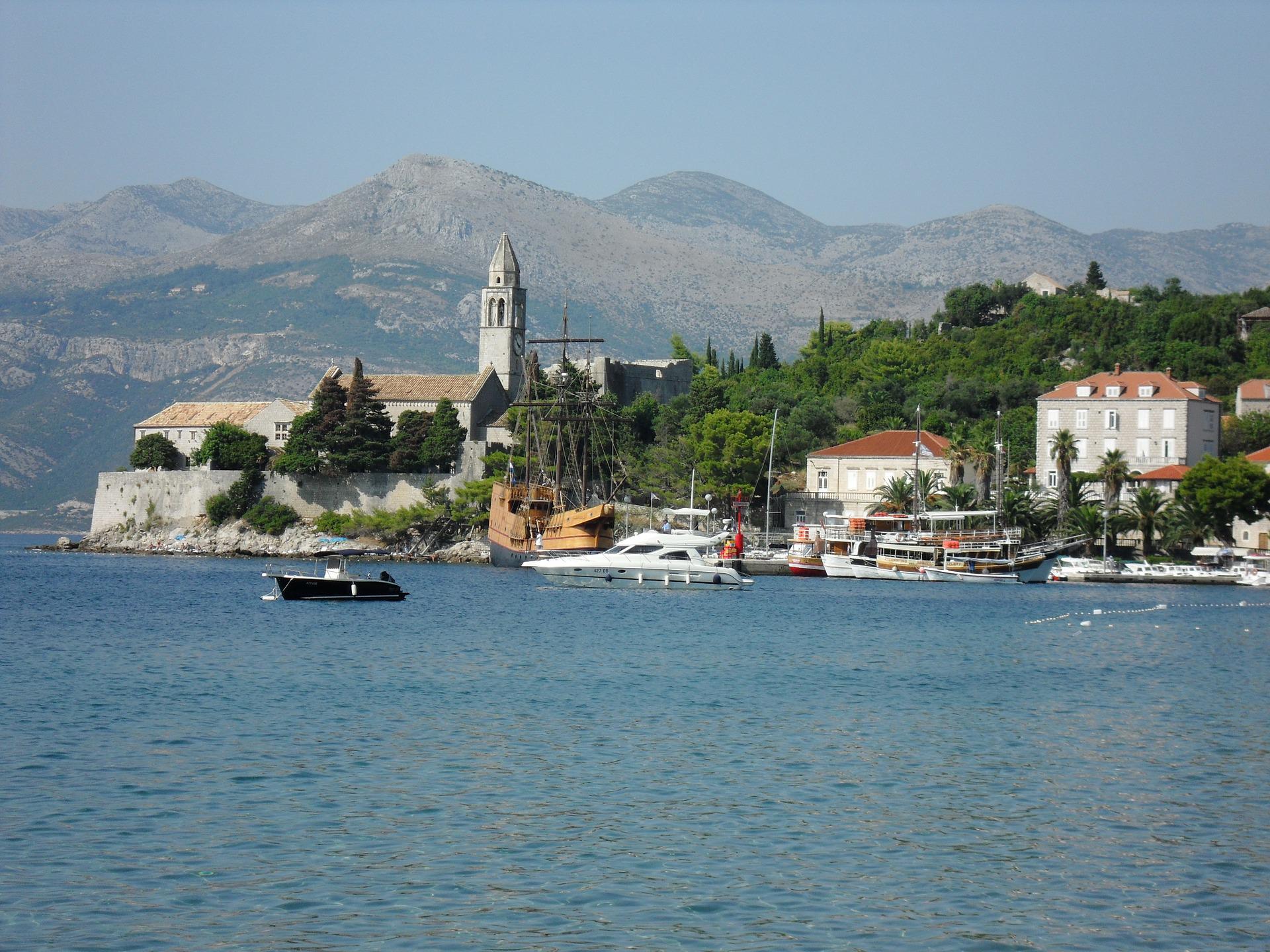 Busreis eilanden van Kroatië Lopud rondreis