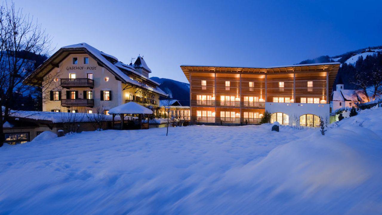 Busreis skivakantie skireis Alta Badia Hotel Ostaria Posta Hotel Post