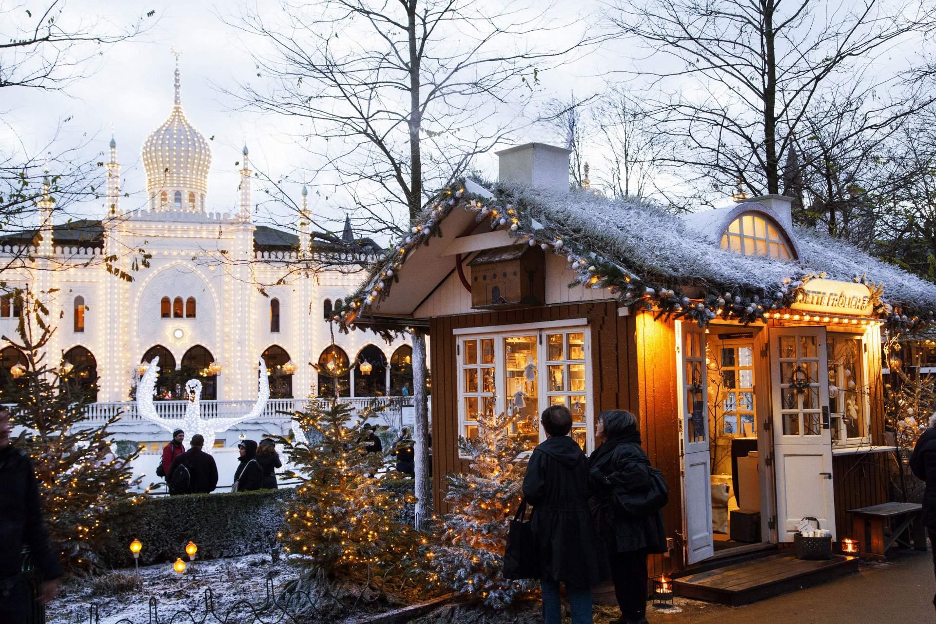 Kerstsfeer in Kopenhagen