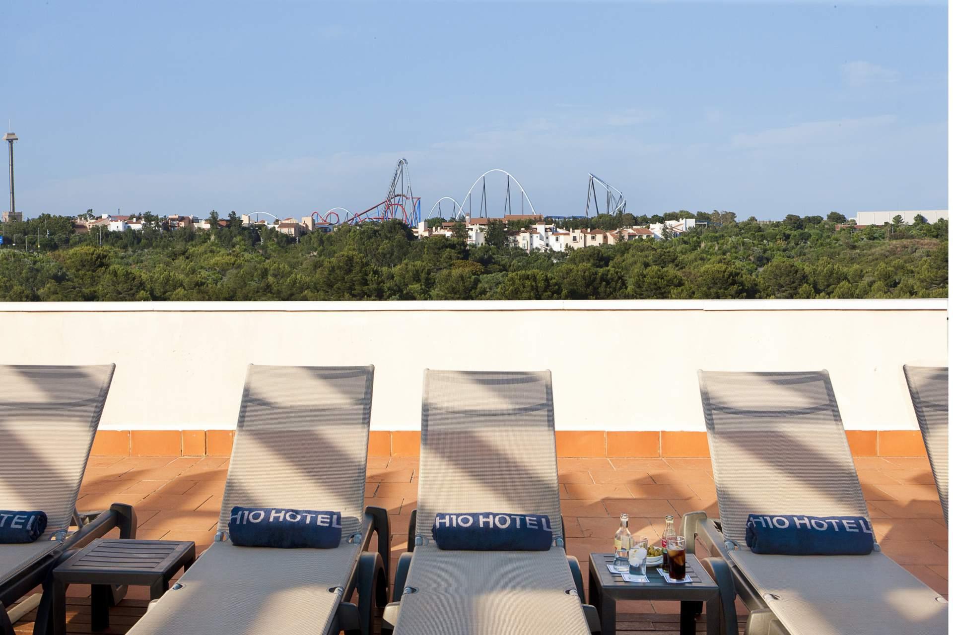 Busreis Salou Hotel H10 Salauris Palace strandvakantie