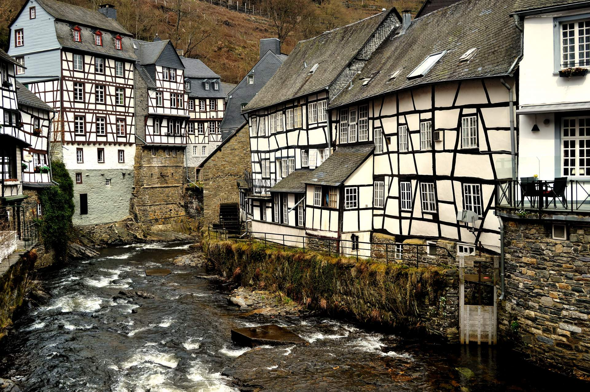 Nationaal Park Eifel: Monschau & Einruhr