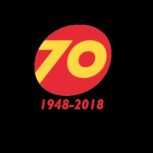 70 jaar
